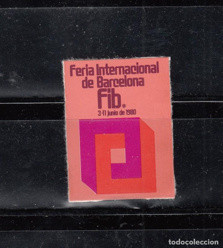 FERIA INTERNACIONAL DE BARCELONA (Sellos - España - Guerra Civil - Viñetas - Nuevos)