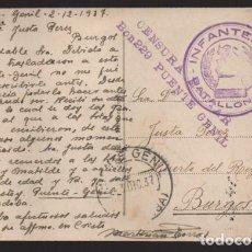 Sellos: PUENTE GENIL-CORDOBA- POSTAL CON FRANQUICIA Y C.M. BON 229- PUENTE GENIL, VER FOTO. Lote 205064245