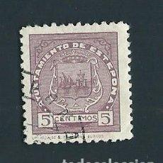Sellos: V1-1 GUERRA CIVIL ESTEPONA (MALAGA) FESOFI Nº 3 USADO. Lote 205098031