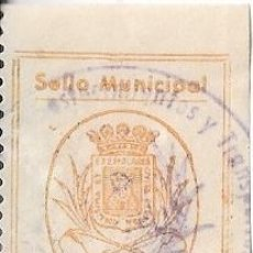 Sellos: SELLO MUNICIPAL TORTOSA (TARRAGONA) 1 PESETA. Lote 205297773