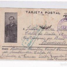 Sellos: SANTANDER. CENSURA PRISIÓN PROVINCIAL 14/5/1939. Lote 205318713