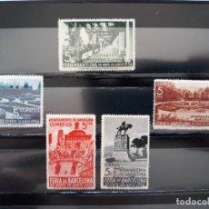 Timbres: SERIE COMPLETA BARCELONA 1936. EDIFIL 14 ** A 18 **. Lote 205355130