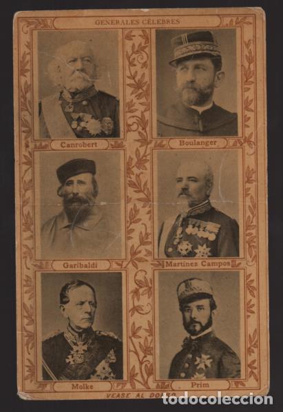 BARCELONA.-POSTAL PUBLICITARIA DR. ANDREU- Y GENERALES CELEBRES- VER FOTOSVER FTOS (Sellos - España - Guerra Civil - Locales - Cartas)