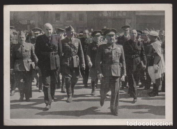 POSTAL CONMEMORATIVA REGRESO DE LA LEGION CONDOR.-CON MEMBRETE IMPRESO- VER FOTOS (Sellos - España - Guerra Civil - Locales - Cartas)
