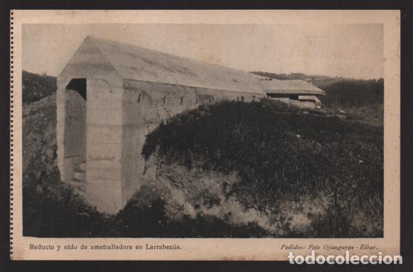 BILBAO-MUSEO GUERRA- DEL CINTURON DE HIERRO,-REDUCTO Y NIDO AMETRALLADORA- SERIE,II,.Nº 4 (Sellos - España - Guerra Civil - Locales - Cartas)