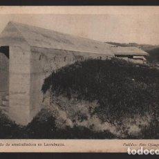 Sellos: BILBAO-MUSEO GUERRA- DEL CINTURON DE HIERRO,-REDUCTO Y NIDO AMETRALLADORA- SERIE,II,.Nº 4. Lote 205437088