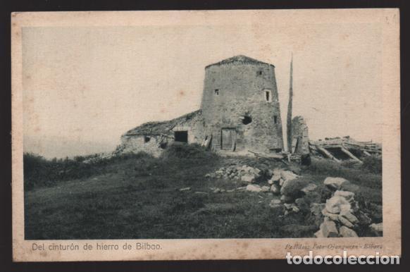 BILBAO-MUSEO GUERRA- DEL CINTURON DE HIERRO,-EL MOLINA DONDE EL EJERCITO VOLADURA DE - SERIE,I,.Nº12 (Sellos - España - Guerra Civil - Locales - Cartas)