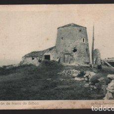 Sellos: BILBAO-MUSEO GUERRA- DEL CINTURON DE HIERRO,-EL MOLINA DONDE EL EJERCITO VOLADURA DE - SERIE,I,.Nº12. Lote 205437847