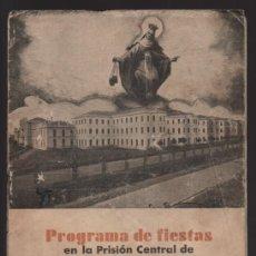 Sellos: ASTORGA- PROGRAMA FIESTA -PRISION CENTRAL ASTORGA- AÑO DE LA VICTORIA.- VER FOTOS. Lote 205446803