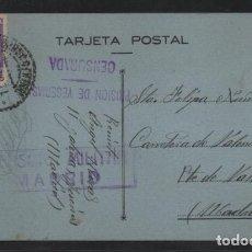 Sellos: MADRID. POSTAL -PRISION DE YESERIAS.- DOBLE C.M. MADRID Y PRISION- VER FOTOS. Lote 205544248