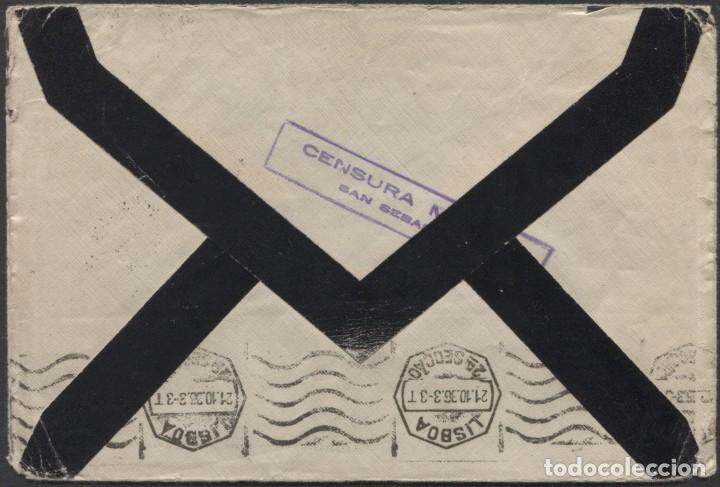Sellos: 1936 SAN SEBASTIÁN A ALEMANIA. LLEGADA - Foto 2 - 205847530