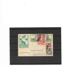 Sellos: CARTA DE LA GUERRA CIVIL ESPAÑOLA CIRCULADA DEL PUEBLO DE RUZAFA A VALENCIA EN 1937-,POSIBLE ÚNICA. Lote 206140255