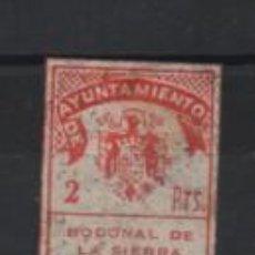 Sellos: BODONAL DE LA SIERRA.- BADAJOZ- 2 PTAS.- SELLO MUNICIPAL- VER FOTO. Lote 206196348