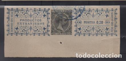 POLVORA Y EXPLOSIVOS, 20 CTS.- PRODUCTOS EXTRANJEROS- VER FOTO (Sellos - España - Guerra Civil - Viñetas - Usados)