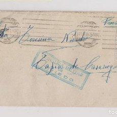 Sellos: SOBRE. CONSERVA LA CARTA DE OVIEDO. A TAPIA DE CASARIEGO. ASTURIAS. 1941. CENSURA MILITAR. Lote 206212835