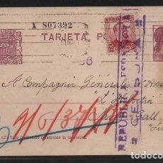 Sellos: POSTA CIRCULADA DE BARCELONA A SUIZA.- VER FOTOS. Lote 206289598