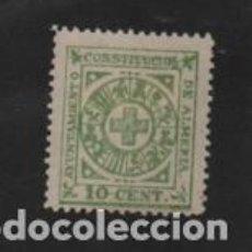 Sellos: ALMERIA. -10 CTS -AYUNTAMIENTO CONSTITUCIONAL- VER FOTO. Lote 206496841