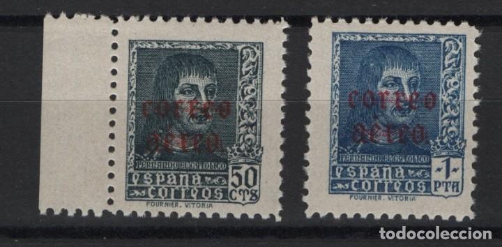 TV_001 .G1/ ESPAÑA EN NUEVO** 1938, EDF. 845/46, CAT. 9,75, FERNANDO EL CATOLICO (Sellos - España - Guerra Civil - De 1.936 a 1.939 - Nuevos)