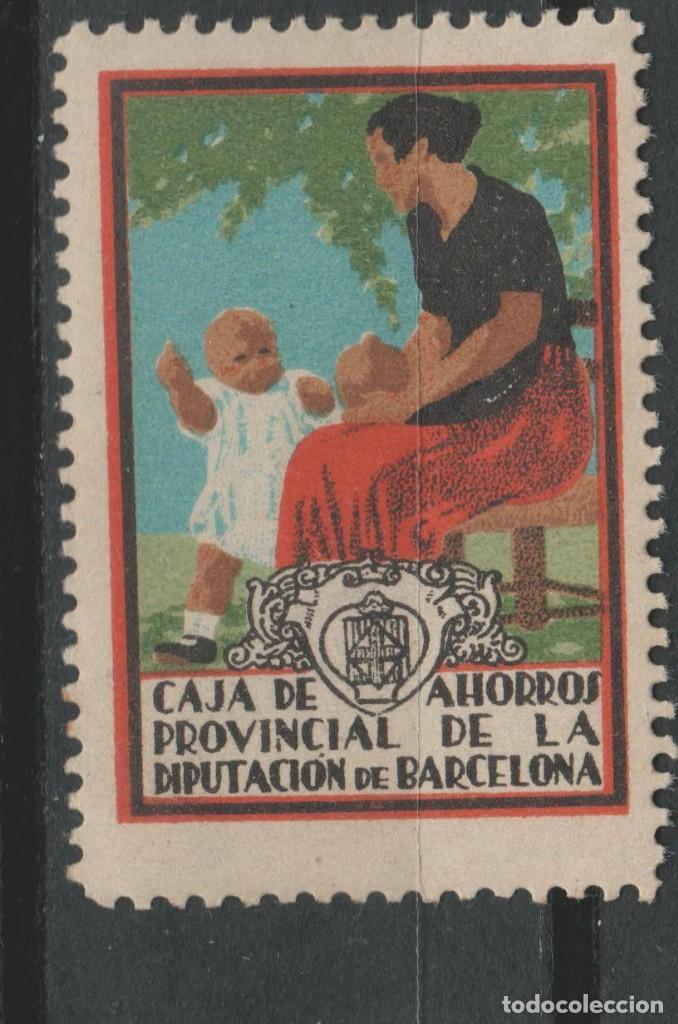 LOTE (13) VIÑETA SELLO NUEVA CAJA AHORROS (Sellos - España - Guerra Civil - De 1.936 a 1.939 - Usados)