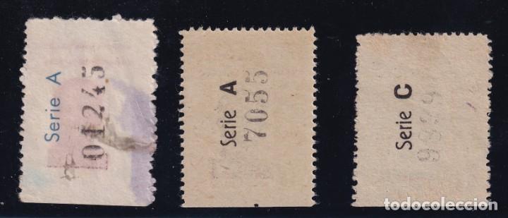 Sellos: CHAMARTIN DE LA ROSA. 3 VALORES FRANCISCO FRANCO - Foto 2 - 207544328
