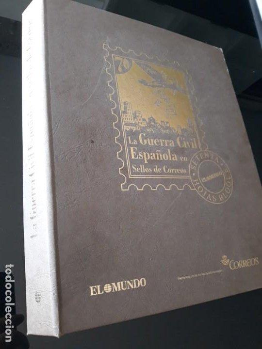 ALBUM LA GUERRA CIVIL ESPAÑOLA EN SELLOS DE CORREOS EL MUNDO 2004 COMPLETO (Sellos - España - Guerra Civil - De 1.936 a 1.939 - Nuevos)