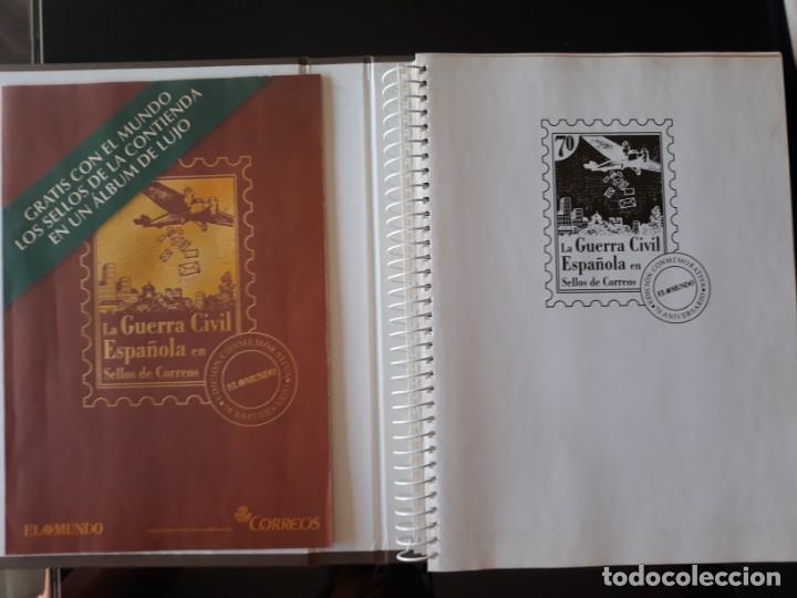 Sellos: ALBUM LA GUERRA CIVIL ESPAÑOLA EN SELLOS DE CORREOS EL MUNDO 2004 COMPLETO - Foto 2 - 208126376