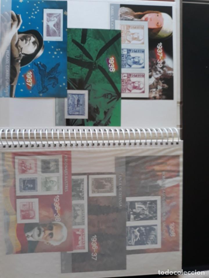 Sellos: ALBUM LA GUERRA CIVIL ESPAÑOLA EN SELLOS DE CORREOS EL MUNDO 2004 COMPLETO - Foto 6 - 208126376