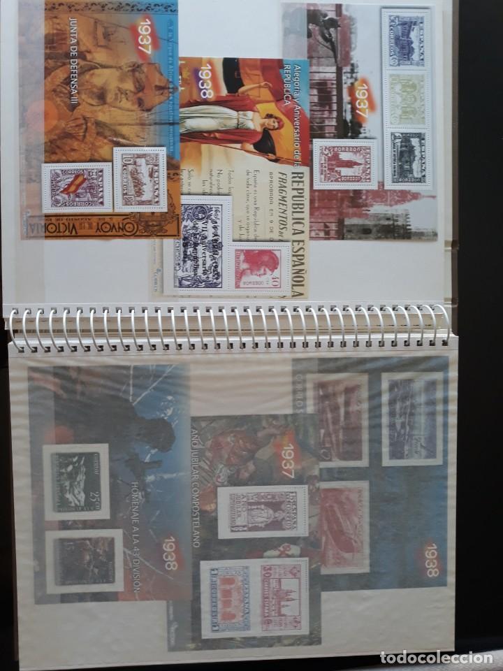 Sellos: ALBUM LA GUERRA CIVIL ESPAÑOLA EN SELLOS DE CORREOS EL MUNDO 2004 COMPLETO - Foto 7 - 208126376