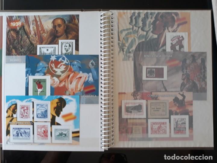Sellos: ALBUM LA GUERRA CIVIL ESPAÑOLA EN SELLOS DE CORREOS EL MUNDO 2004 COMPLETO - Foto 16 - 208126376