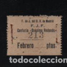 Sellos: MADRID.-F.DE D.U. -F.J.F. CENTURIA-ONESIMO REDONDO- VER FOTO. Lote 208335196