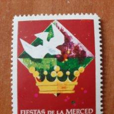 Sellos: SELLO FIESTAS DE LA MERCED - BARCELONA, 1961. Lote 208772318