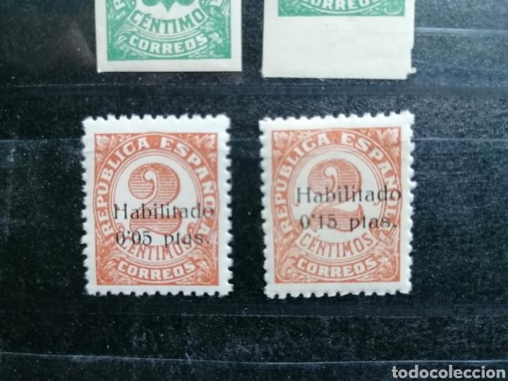 Sellos: España Guerra Civil Edifil 677,678 Emitidos con sobrecarga en Baleares 1938 - Foto 3 - 223311070