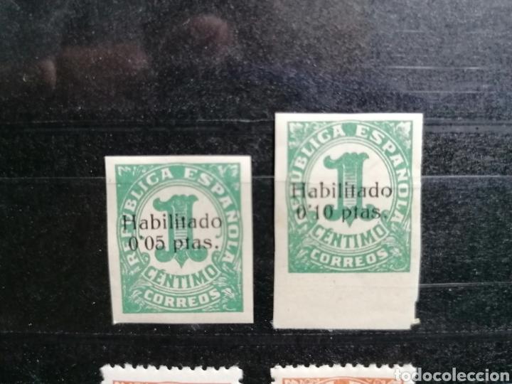 ESPAÑA GUERRA CIVIL EDIFIL 677,678 EMITIDOS CON SOBRECARGA EN BALEARES 1938 (Sellos - España - Guerra Civil - De 1.936 a 1.939 - Nuevos)