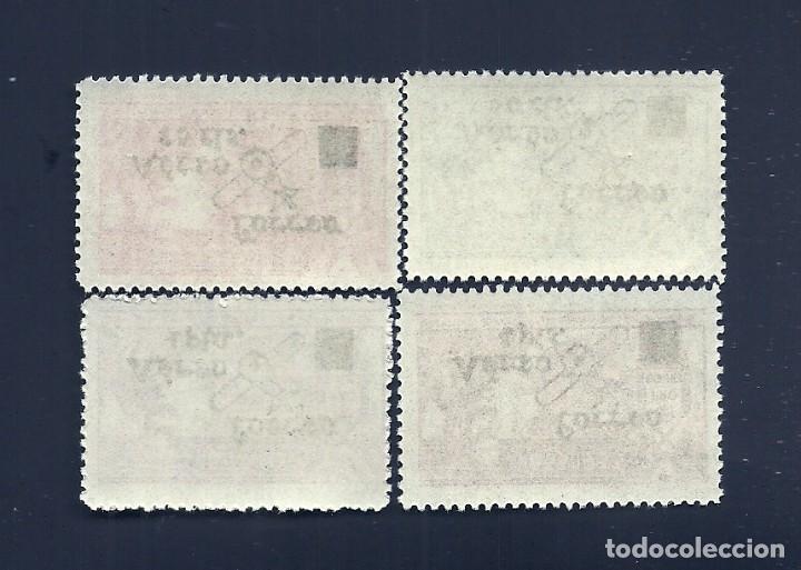 Sellos: V1-6 Guerra Civil REQUETES Galvez nº 19-22 Serie Completa fijasellos. - Foto 2 - 210067730