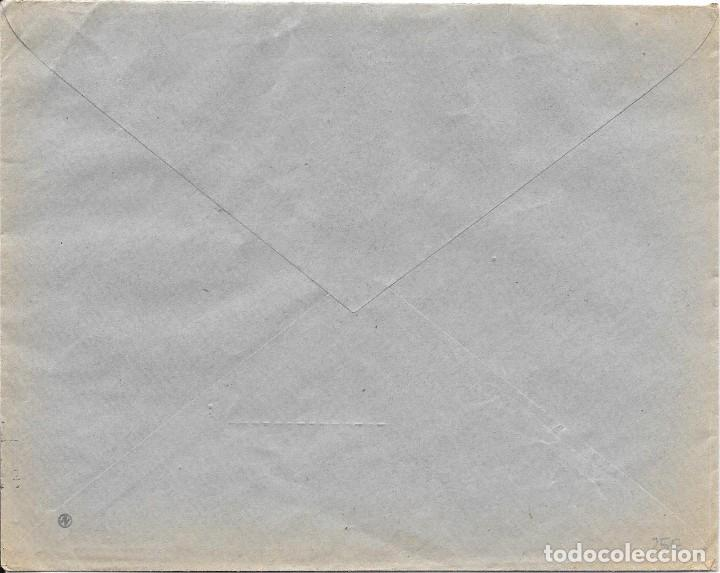 Sellos: EDIFIL 823 + AUXILIO DE INVIERNO. DE VILLAGARCIA - PONTEVEDRA A SEVILLA. 1937 - Foto 2 - 210469922