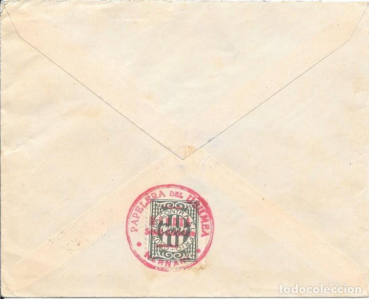 Sellos: EDIFIL 823 + CRUZADA CONTRA EL FRIO. DE HERNANI A SAN SEBASTIAN. 1938 - Foto 2 - 210472608