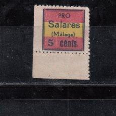 Sellos: PRO-SALARES. 5 CTS.. Lote 210650547