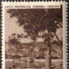 Sellos: JUNTA PROVINCIAL TURISMO - GERONA, 1 ''S. FELIU DE GUIXOLS - UN RINCÓN DE LA PLAYA''./ ANVERSO LUJO.. Lote 211255692