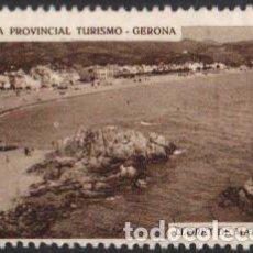 Sellos: JUNTA PROVINCIAL TURISMO - GERONA.-9 ''LLORET DE MAR - PLAYA''''./ ANVERSO LUJO.. Lote 211259531