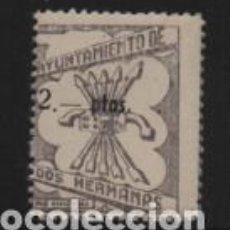 Sellos: DOS HERMANAS -SEVILLA- 2 PTA.- PRO VIVIENDA- VER FOTO. Lote 211726065