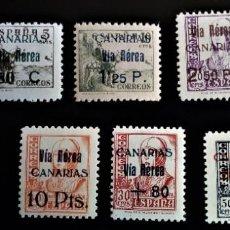 Sellos: GUERRA CIVIL CANARIAS 44 - 51 *** Y ** PRECIOSOS. Lote 213516616