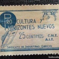 Sellos: VIÑETA POLÍTICA REPUBLICANA. AFINET NO CATALOGADA.. Lote 213770805