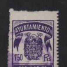 Sellos: SAN JUAN DE AZNAFARACHE, 1,50 PTAS. VER FOTO. Lote 213981498