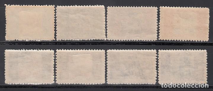 Sellos: BENEFICENCIA, 1934 EDIFIL Nº 1 / 8 **/* Alegoría Infantil - Foto 2 - 215622343