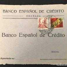 Sellos: ESPAÑA GUERRA CIVIL FRONTAL DE CARTA CENSURA MILITAR GRANADA. Lote 216422363