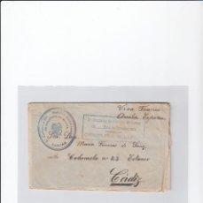 Sellos: SOBRE + CARTA. CENSURA MILITAR. 2ª COMPAÑIA DE INFANTERIA DE MARINA DEL....BATALLÓN EXPEDICIONARIO.. Lote 216496771