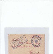 Sellos: SOBRE + CARTA. CENSURA MILITAR. 2ª COMPAÑIA DE INFANTERIA DE MARINA DEL....BATALLÓN EXPEDICIONARIO.. Lote 216597317