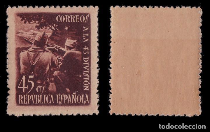 Sellos: 1938.Homenaje 43 División.Serie.MNH.Edifil.787-788 - Foto 3 - 217094065