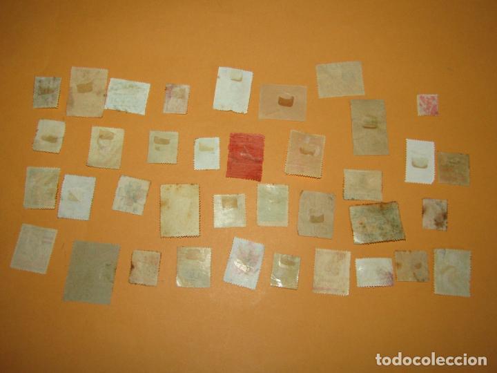 Sellos: Antiguo Lote de 37 Viñetas Guerra Civil de Ambos Bandos - Año 1936-39 - Foto 7 - 217898167