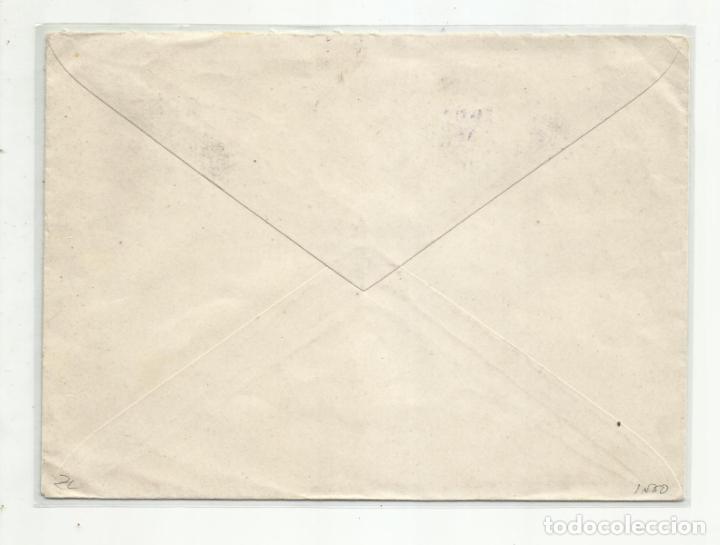 Sellos: circulada 1937 de la coruña a burgos con sello local - Foto 2 - 217963692